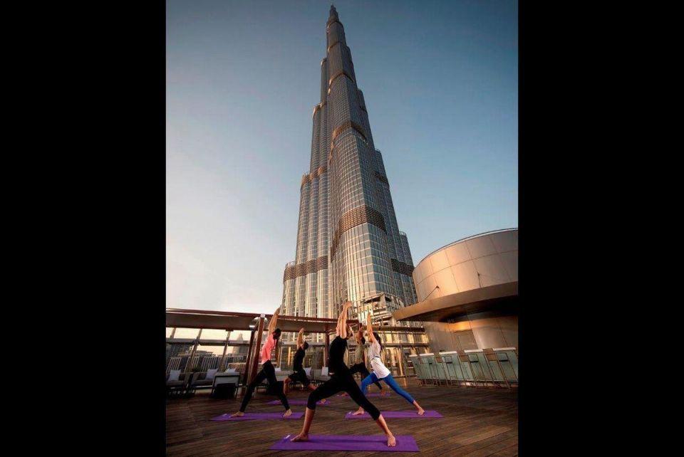 Burj Khalifa opens fitness and wellness retreat for public