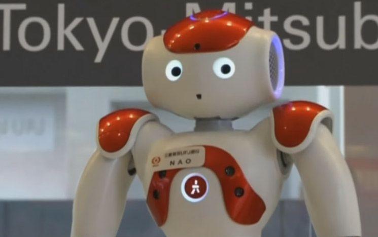 Robot greets travellers at Tokyo Airport