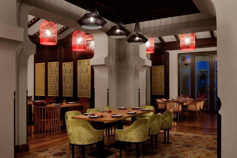 The client dinner at Zheng He's: Mina A' Salam, Madinat Jumeirah