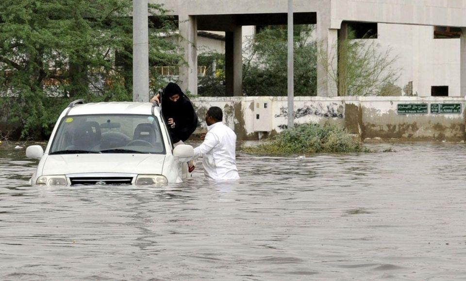 At least two people die in Jeddah flash floods
