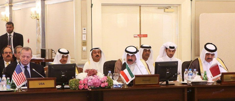 Anti-ISIL coalition meeting in Kuwait