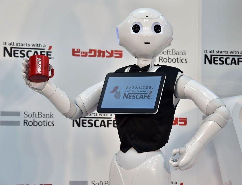 Nestle employs humanoid robot Pepper