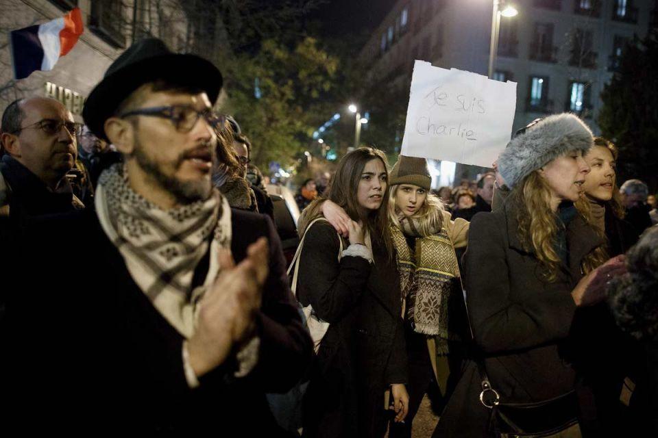 "Global reaction: ""Je suis Charlie"""