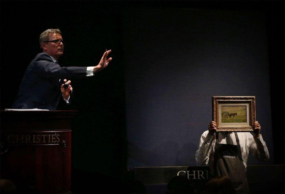 Christie's multi-million pound art sale