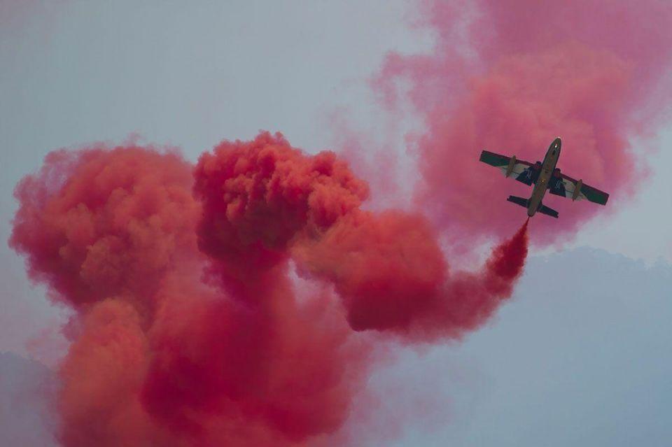 UAE aerobatic team performs at LIMA15