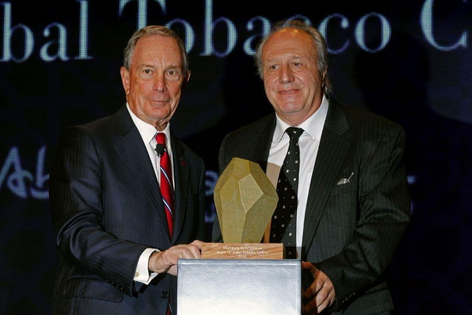 Abu Dhabi: Philanthropies Award for Global Tobacco Control