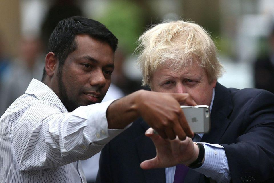 Britain's selfie obsessed election campaign