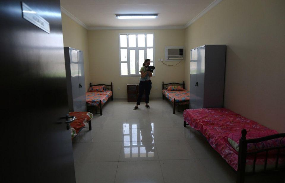 In pics: Accommodation for migrant workers in Qatar