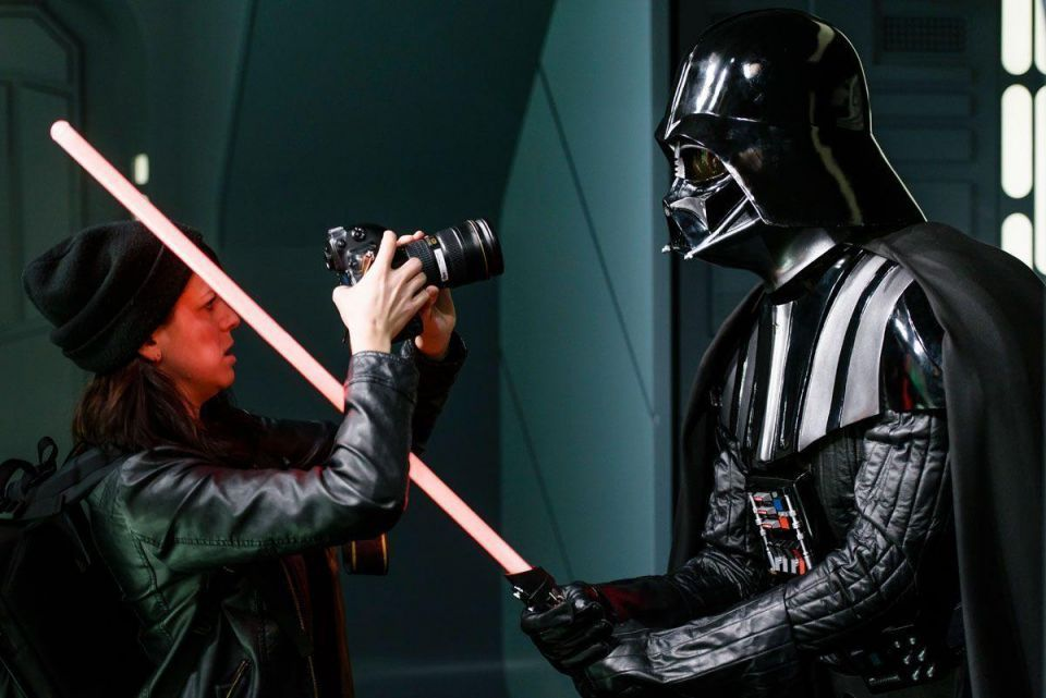 Video: Star Wars exhibition comes to London