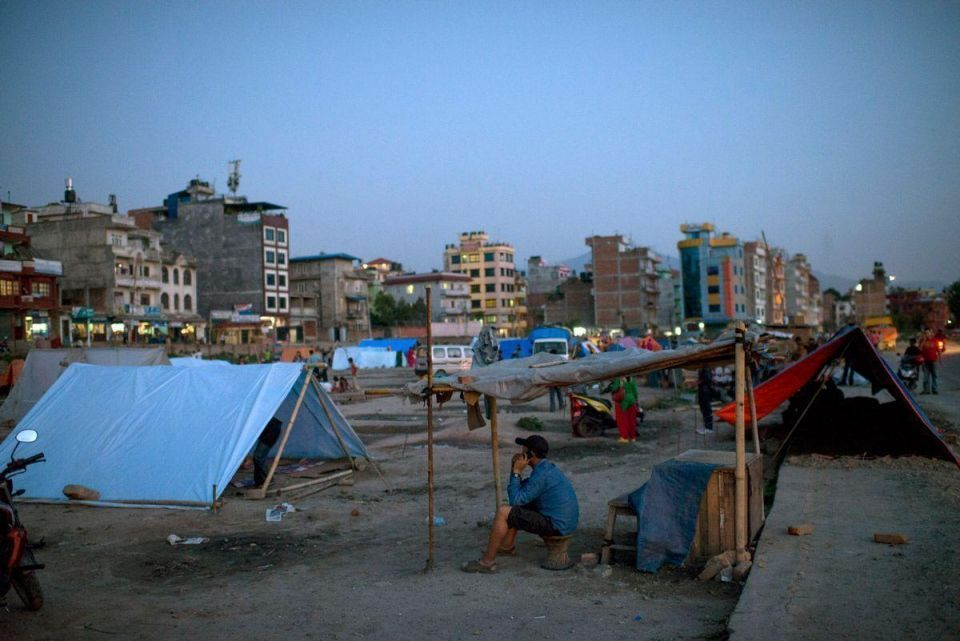 In pics: Second earthquake hits Nepal