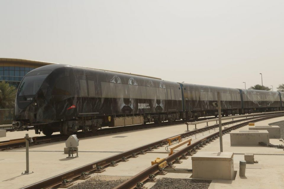 InPics: Top artists transform Dubai Metro carriages