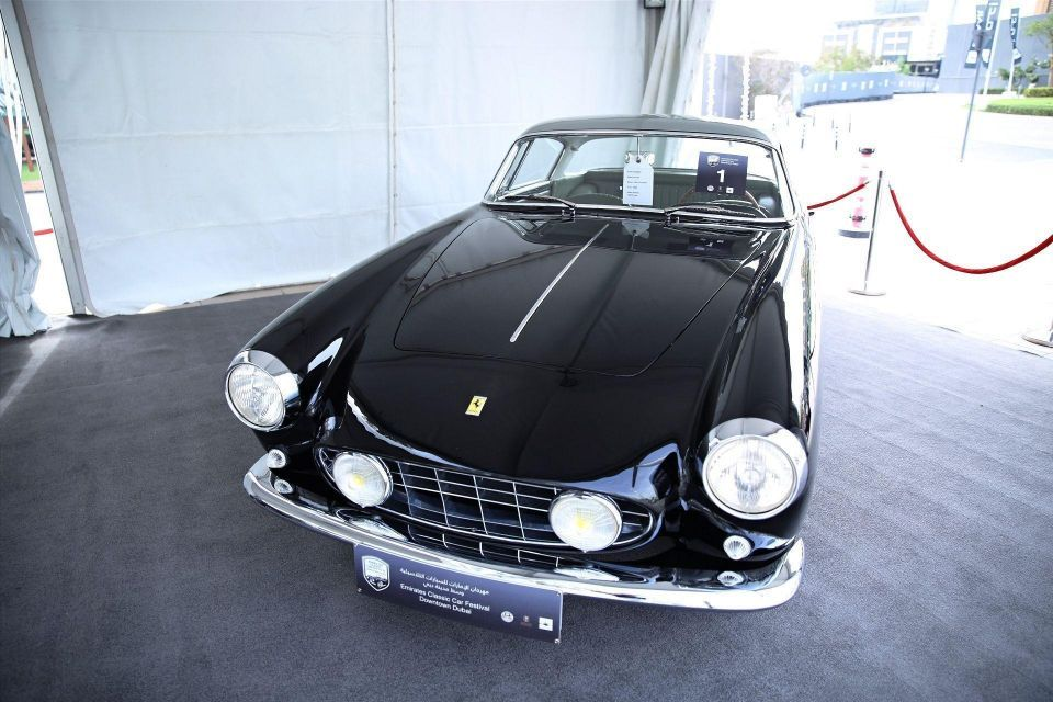 Behind the scenes of the Emirates Classic Car Festival