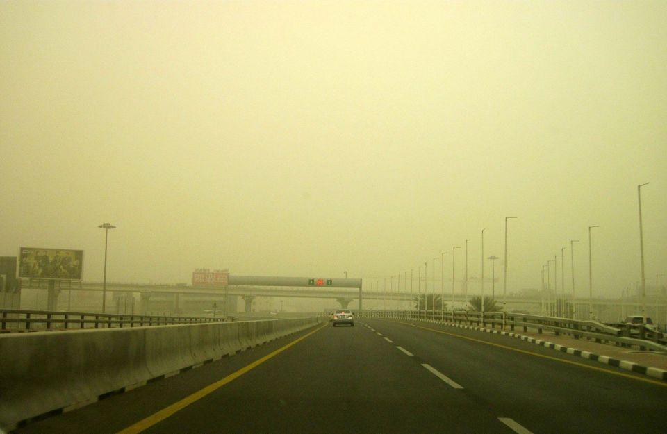 Major sandstorm disrupts flights at Gulf airports