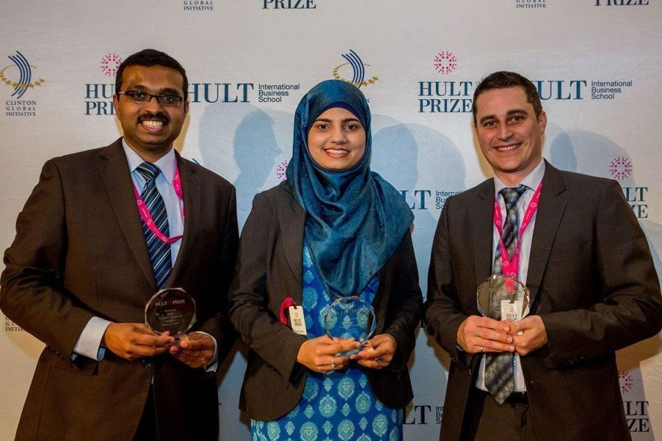 Canadian students win The Hult Prize MENA finals