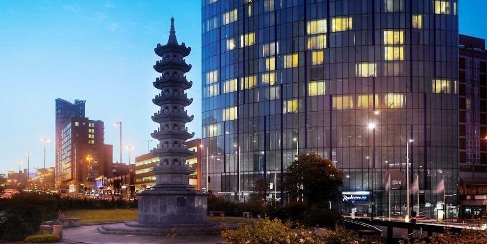 UAE's Select buys Radisson hotel in UK's second largest city