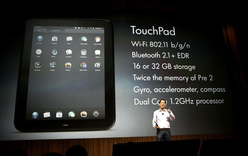 HP offers TouchPad on discount month after launch