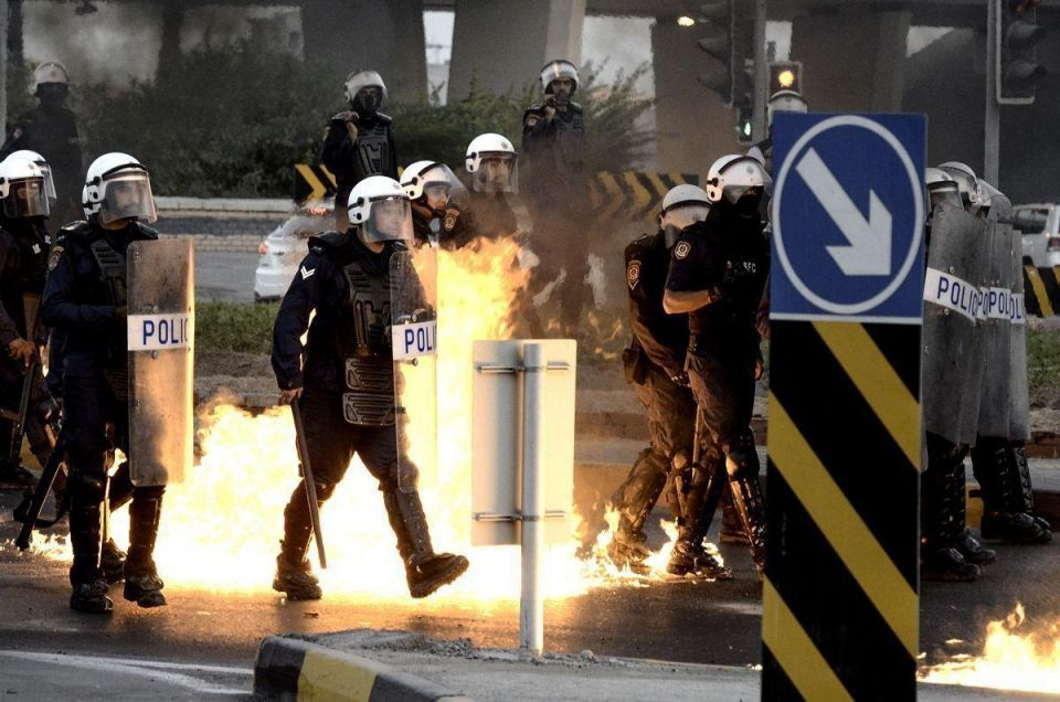 Policemen injured by bomb on Bahrain highway