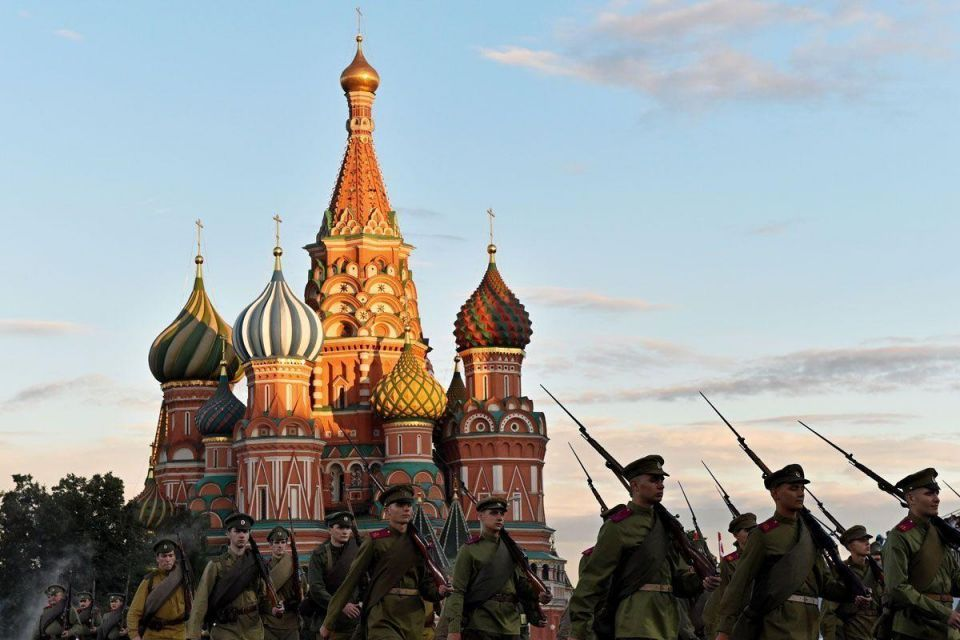 """International military and music festival """"Spasskaya Tower"""" in Moscow"""