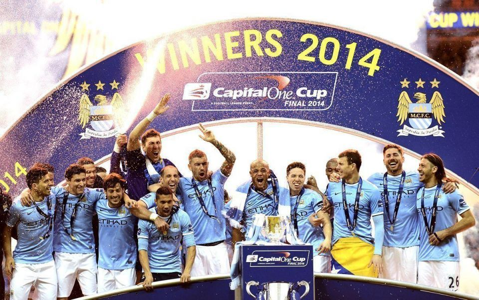 Abu Dhabi's Man City wins England's League Cup