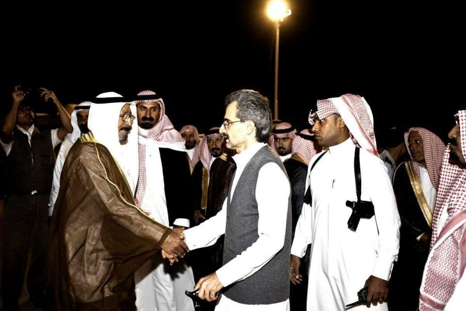 Exclusive new shots of HRH Prince Alwaleed