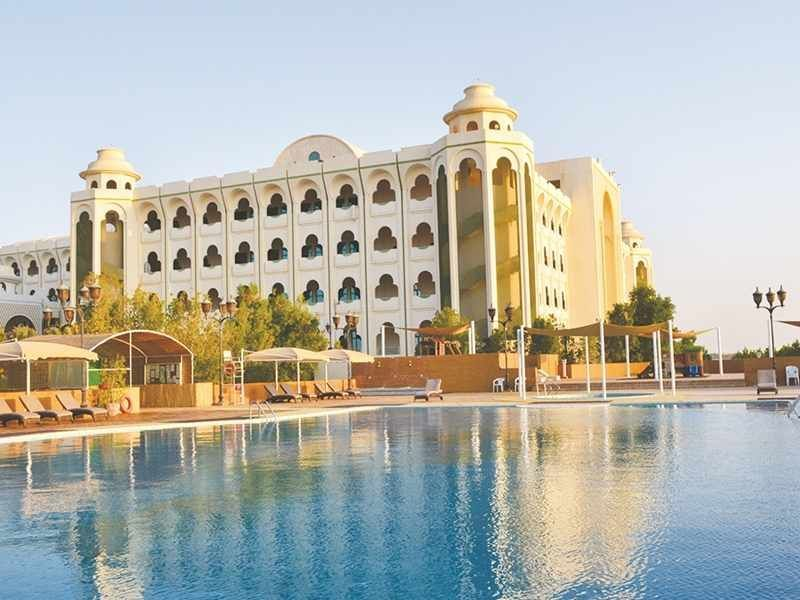 Former Abu Dhabi palace relaunches as luxury hotel
