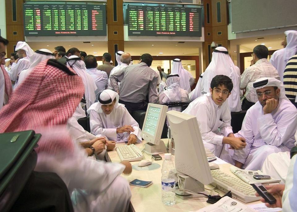 Dubai Financial Market index value: end-of-year forecast