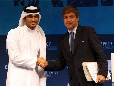 Asian Olympic chief backs Qatar 2022 bid amid bribe claims