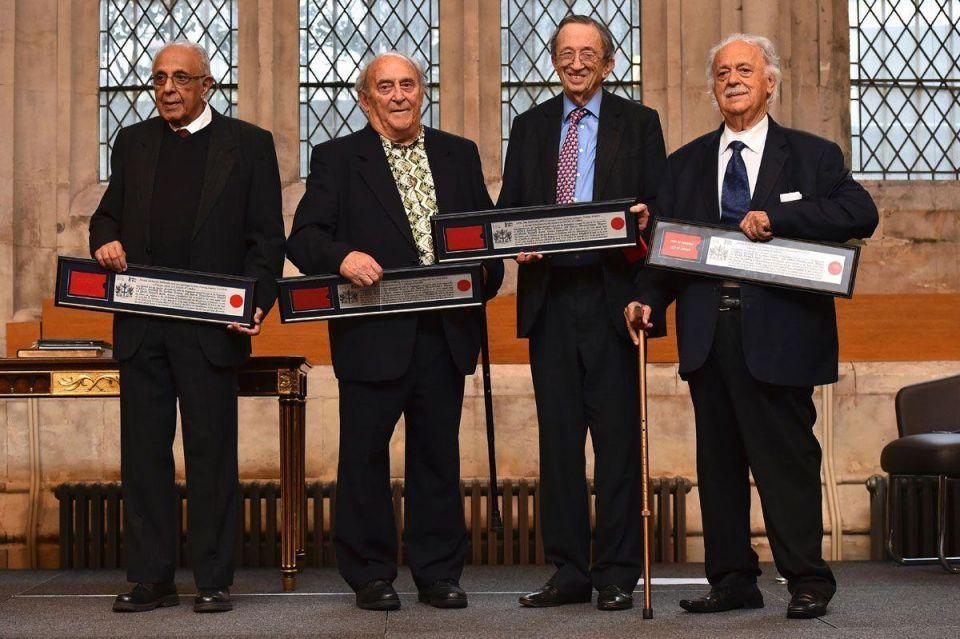 Mandela's friends awarded in London