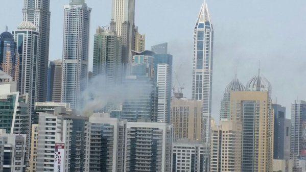 Residents evacuated in Dubai Marina blaze drama