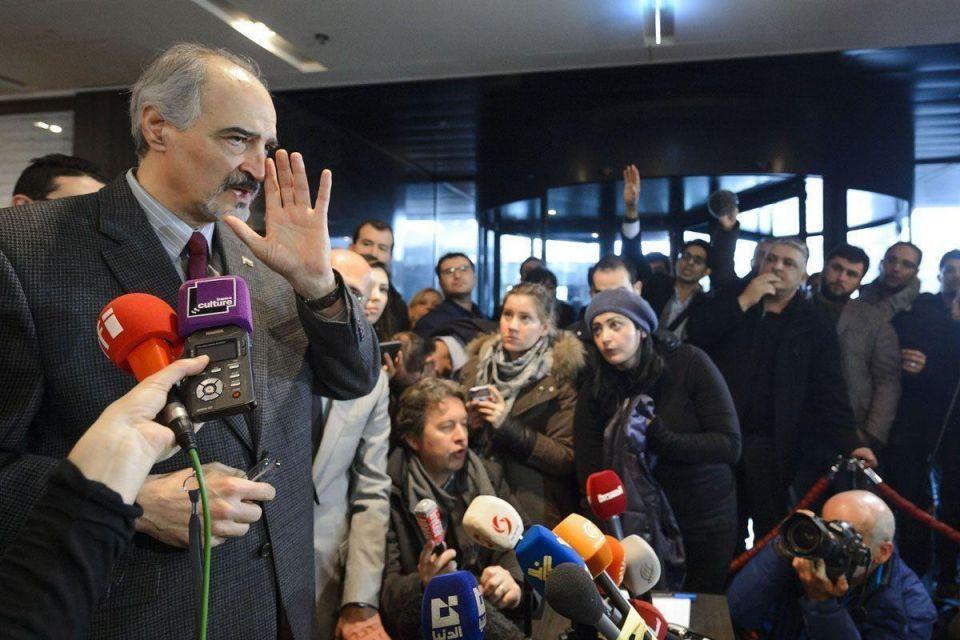 Syria peace talks in Geneva