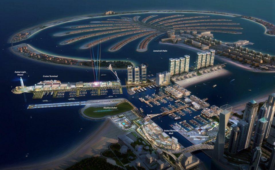 Revealed: Dubai Harbour, the city's newest mega project
