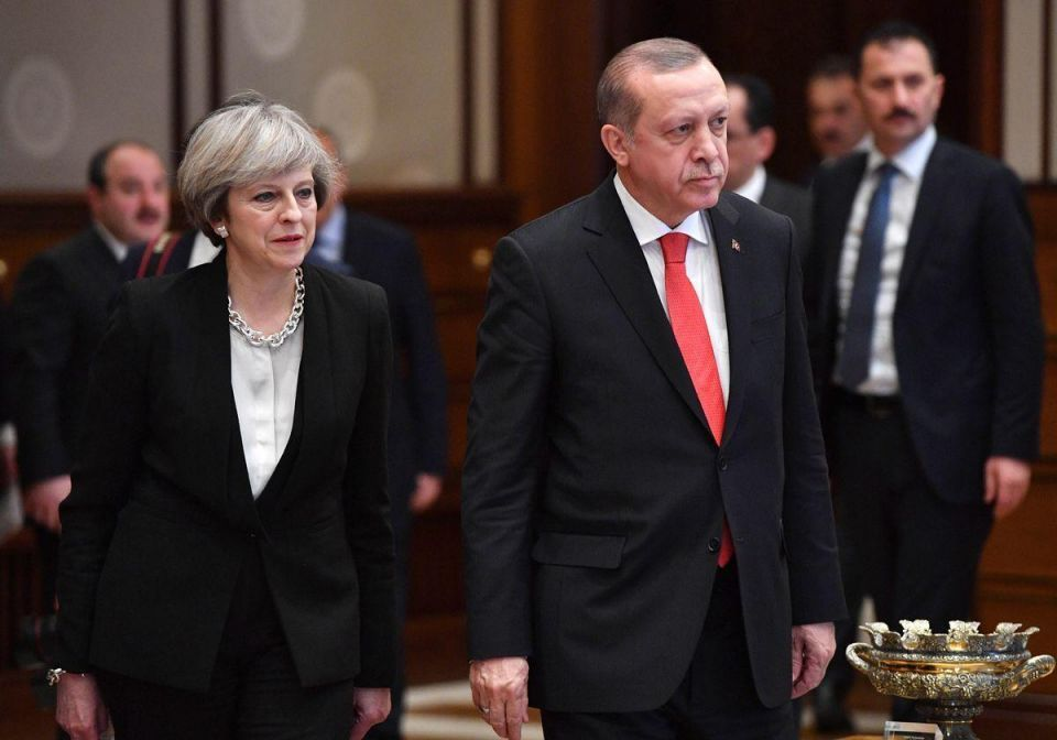 In pictures: British Prime Minister Theresa May visits Turkey