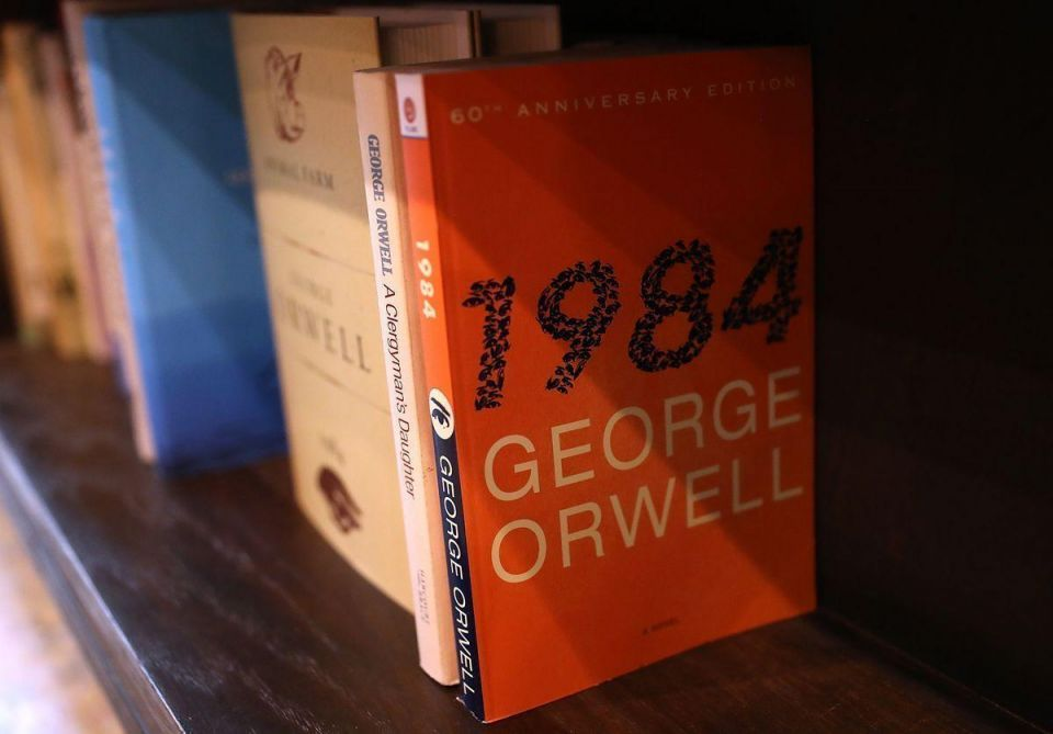 Orwell's '1984' back as bestseller amid White House defence of 'alternative facts'