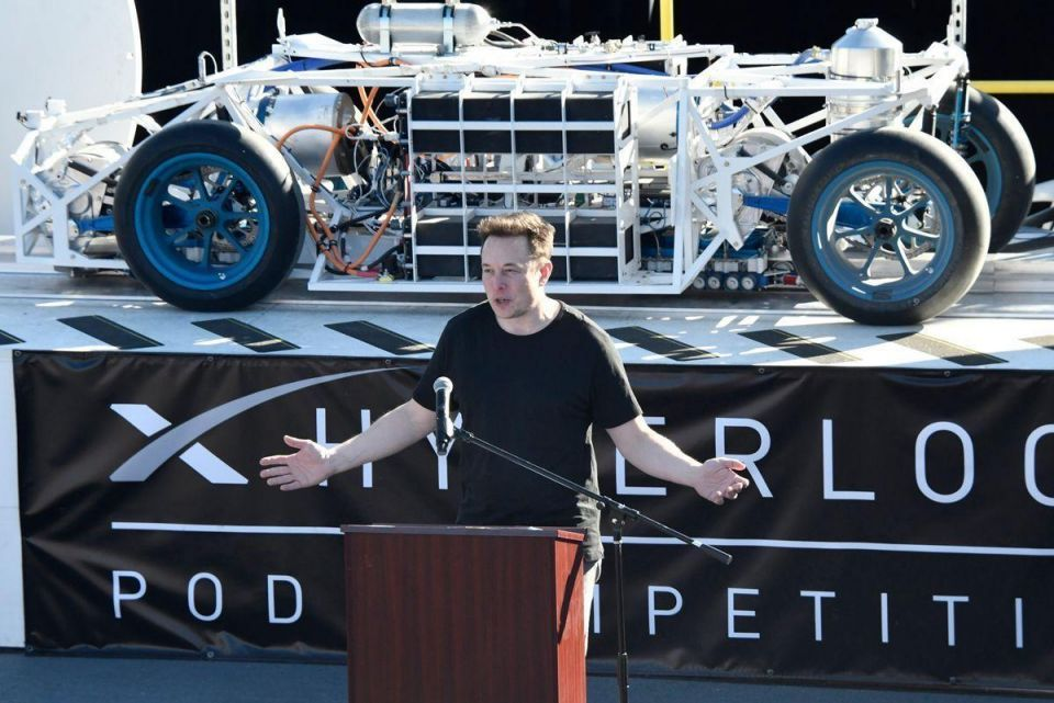 In pictures: Hyperloop pod race at the SpaceX headquarters
