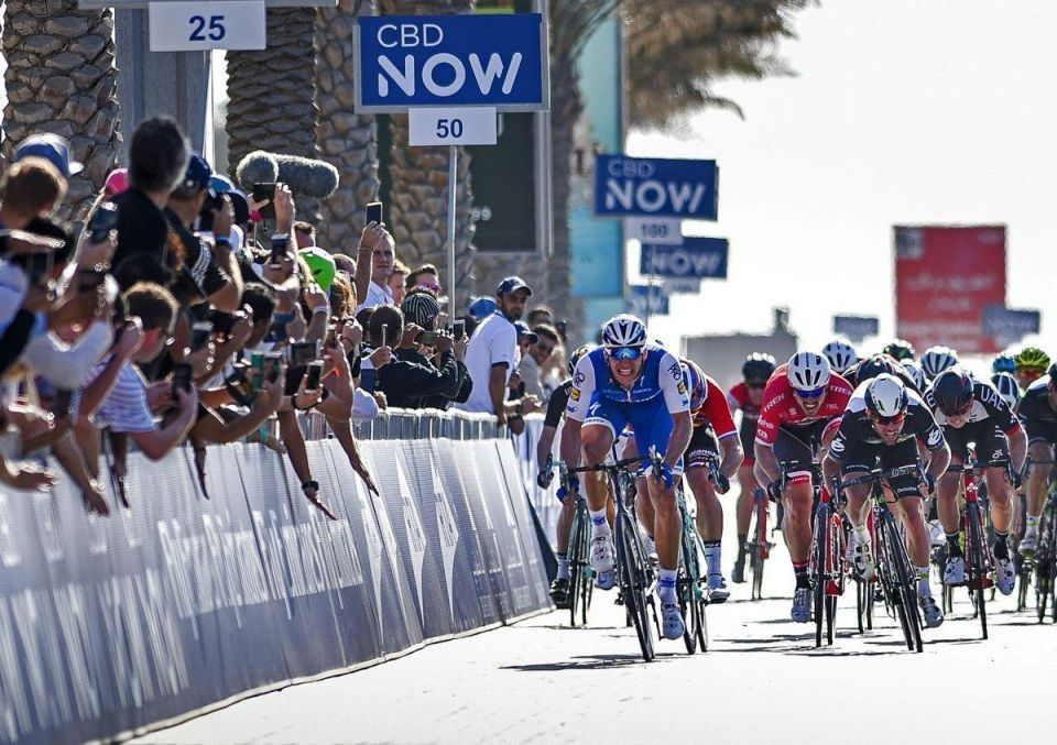 In pictures: German rider Marcel Kittel wins the first stage of Dubai Tour 2017