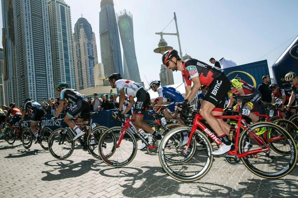 In pictures: Germany's Marcel Kittel from Quick-Step Floors Team wins Dubai Tour 2017