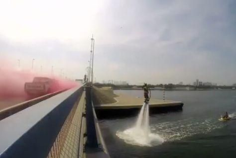 Revealed: Dolphin, Dubai Civil Defence's new firefighting gadget