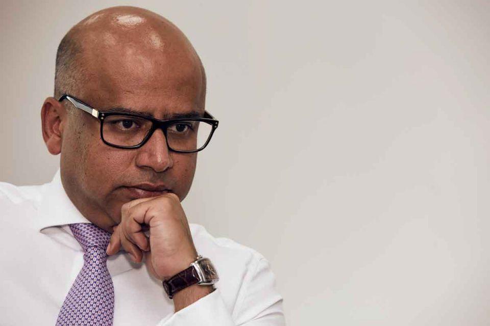 Man of steel: Sanjeev Gupta