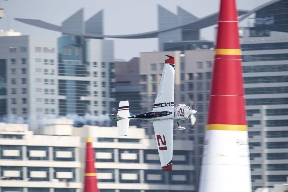 In pictures: Red Bull Air Race take off in Abu Dhabi skies