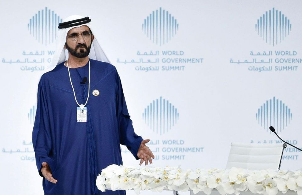 Dubai ruler urges gov't entities to think 'out of the box'