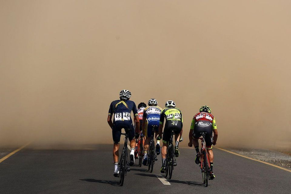 In pictures: Kristoff of Norway Team Katusha wins stage one of Tour of Oman
