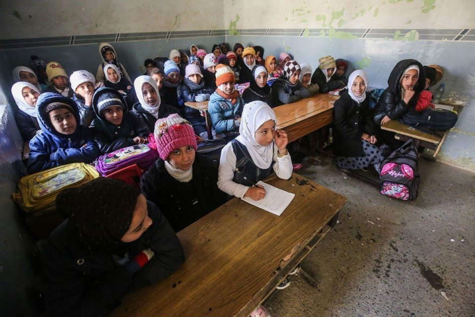 In pictures: Children go back to school in Mosul