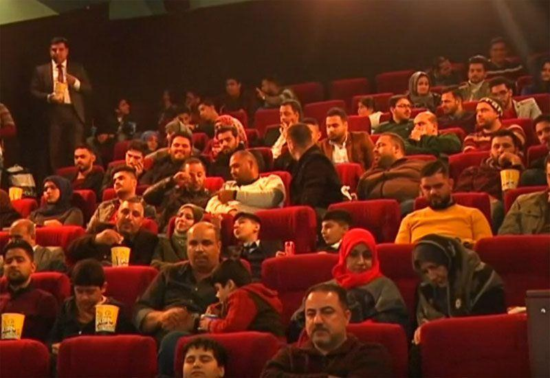 Video: Iraqis captivated by return of big screen cinema