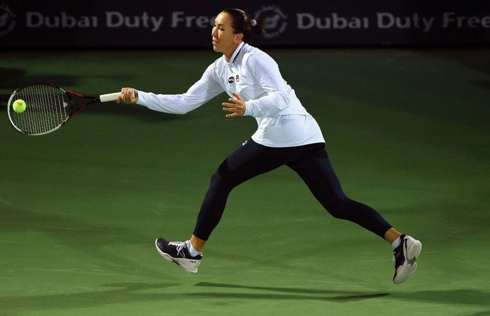 Day one: Dubai Duty Free Tennis Championship at the Dubai Tennis Stadium