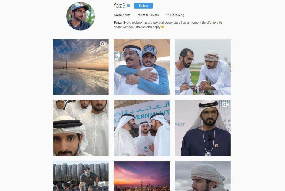 Dubai Crown Prince hits new milestone on Instagram