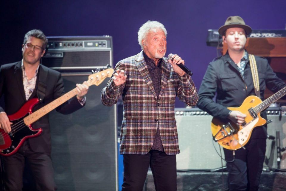 In pictures: Music legend Sir Tom Jones at the opening night of Emirates Airlines Dubai Jazz Festival