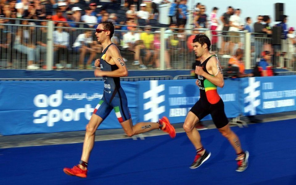In pictures: Gomez of Spain wins triathlon in Abu Dhabi