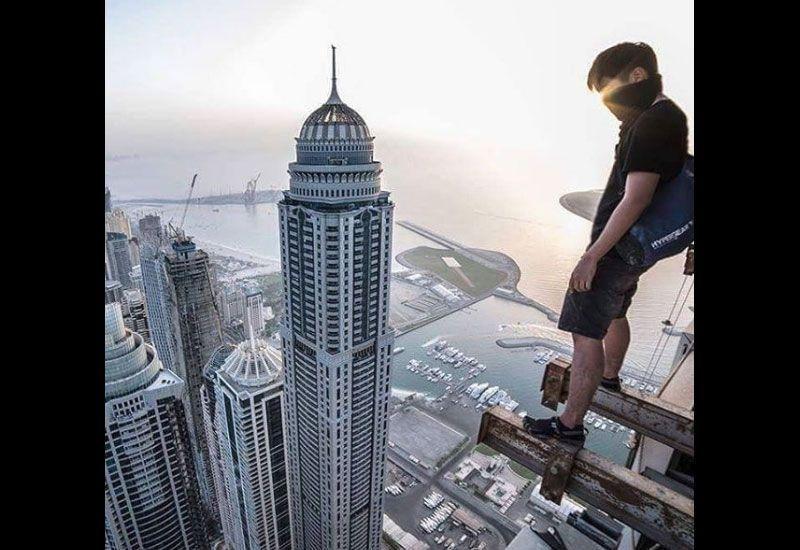 Revealed: Daredevils in Dubai