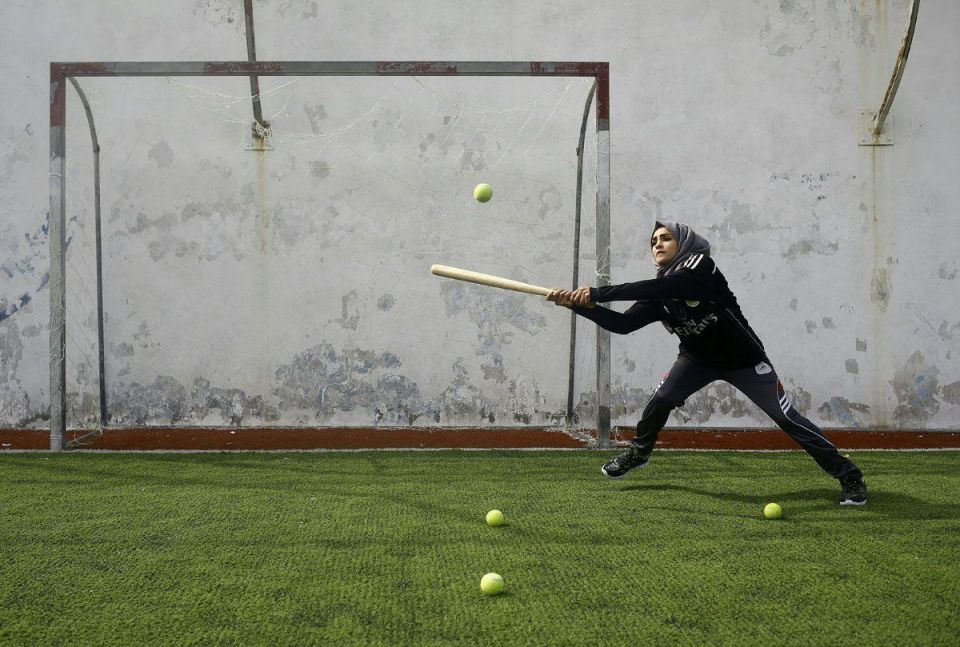In pictures: Women's softball team in Gaza
