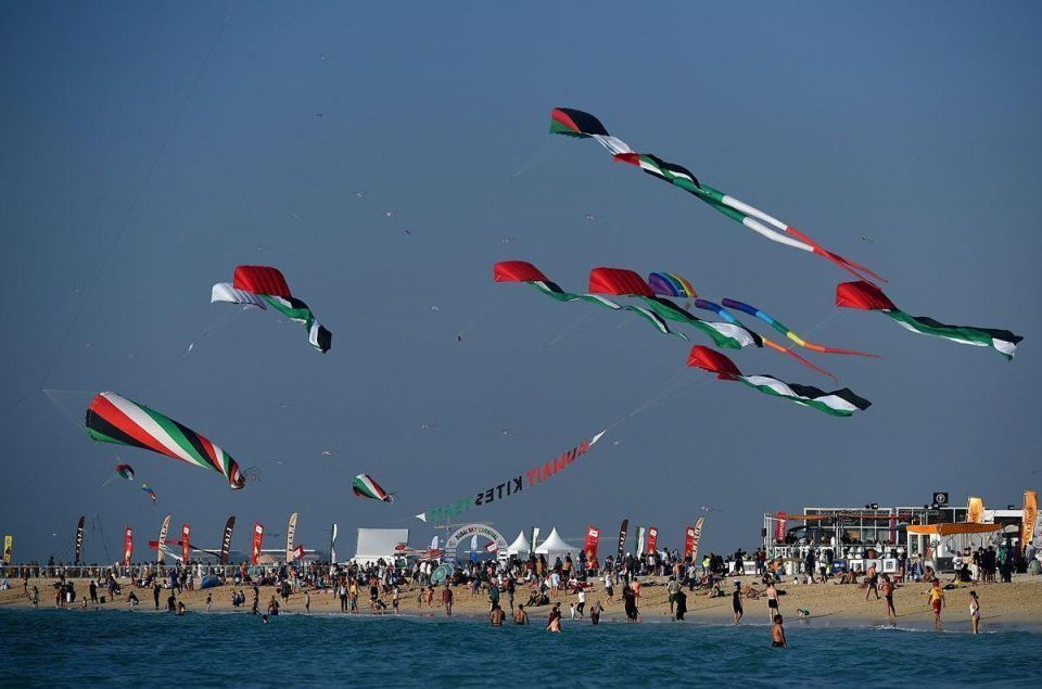 In pictures: Kites fill Dubai skies